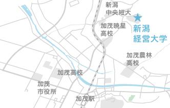加茂市地図