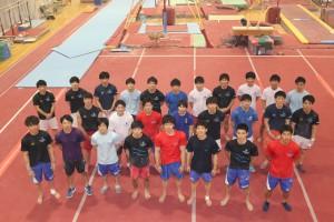 新潟経営大学体操競技部写真