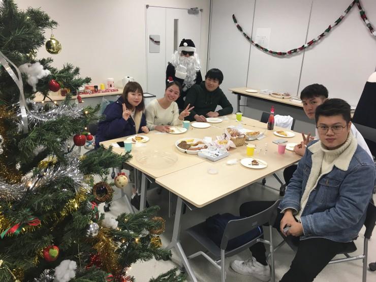 新潟経営大学 国際交流イベント風景